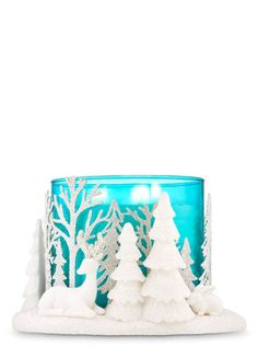 Bath /& Body Works Deep Cleansing Hand Soap Sleeve Forest Christmas Trees