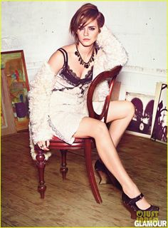 Emma Watson looks fabulous in this month's Glamour  #emmawatson #glamour #fabulous