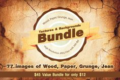 Check out 77 Textures and Backgrounds Bundle by VL Shop on Creative Market