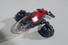 A spacecraft with a drone inside. #lego