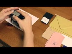 Circle Monogram Stamp - Stamper & custom plate | Paper Source