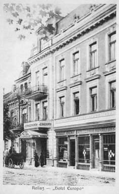 Hotel Europa w okresie Międzywojennym