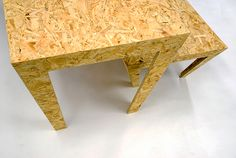 The Chipper Dining and Coffee tables are made of chipboard, which is a compressed wood chip material consisting of spanners using most parts of the tree.The chipboard is made of up to 65-90% recycled material bonded with an artificial resin and is very …