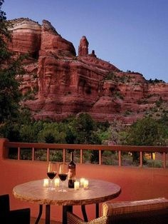 Enchantment Resort Sedona, Arizona Hotels Jetsetter Guides Luxury Travel Trip Ideas Weekend Getaways sky Nature landmark Architecture mountain tourist attraction landscape rock red national park home tree canyon evening house roof Oh The Places You'll Go, Places To Travel, Places To Visit, Travel Destinations, Dream Vacations, Vacation Spots, Vacation Ideas, Vacation Packages, Enchantment Resort Sedona