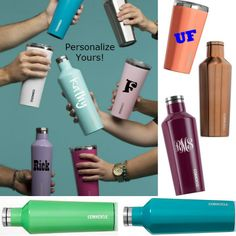 #Corkcicle at #WalkOnWaterBoutiques  Make yours personal!