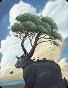 Pinzellades al món - Roland Tamayo #rabbit