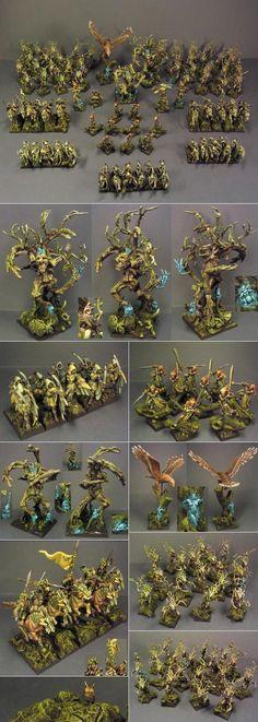 Wood Elf army