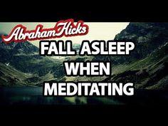 ▶ Abraham Hicks - Falls Asleep Meditating - YouTube