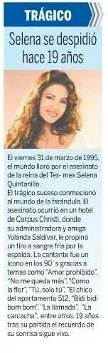 Remembering Selena