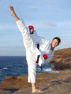 World Kumite Champion, Elisa Fonseca