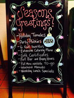 Holiday Specials at Mi Ranchito