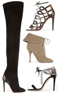 First Look: Olivia Palermo's Shoe Collection for Aquazurra Look Olivia Palermo, Olivia Palermo Lookbook, Edgy Shoes, New Shoes, Heeled Boots, Shoe Boots, Shoe Collection, Fashion Shoes, Booty