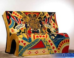 Book bench, London
