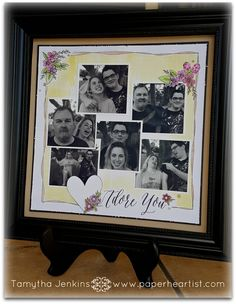 """January's Stamp of the Month.""""Adore You"""" Scrapbooking Layouts, Scrapbook Cards, Paper Crafts, Diy Crafts, Adore You, Close To My Heart, Paper Decorations, Cute Cards, Small Gifts"""