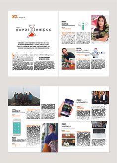 Publieditorial para a revista TPM, projeto GOL Novos tempos.