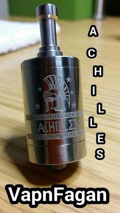 #RDA #Achilles #TitaniumMods #VapnFagan #Clone review coming next week