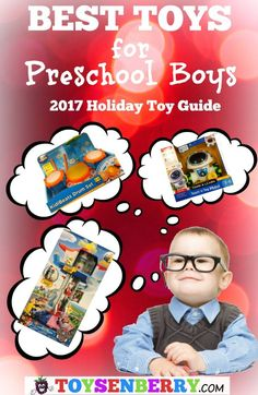 Best toys for preschool boys - The latest toy releases that make the best toys for preschoolers list!