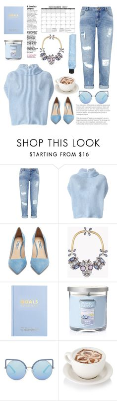 """Thursday December 7th 2017 6:35 p.m."" by mimas-style ❤ liked on Polyvore featuring Miss Selfridge, Jil Sander, Prada, Dsquared2, kikki.K, Yankee Candle, Matthew Williamson and Forever 21"