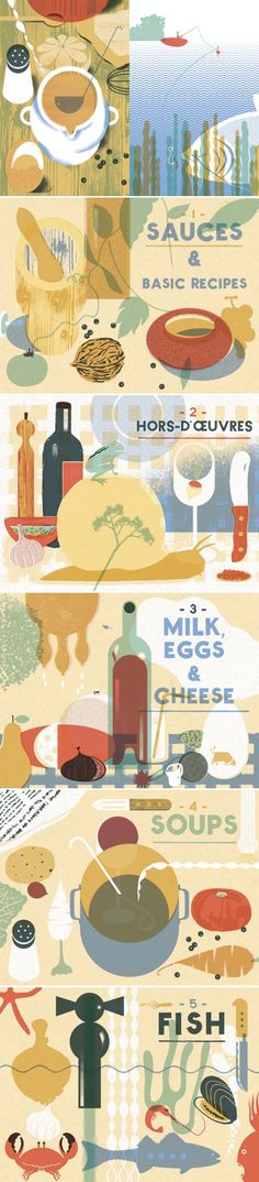 'I Know How To Cook' illustrated by Blexbolex, written by Ginette Mathiot