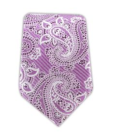 Waltzing Paisley Necktie in Orchid, $15 at www.TheTieBar.com