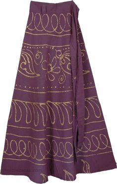 Long Wrap Skirt Eggplant in Clearance (Wrap-Around-Skirt). Cotton Wrap Around Long SkirtWrap yourself in style in this graceful new style flowing cotton skirt with a wrap around waist. Curvy Outfits, Modest Outfits, Boho Outfits, Skirt Outfits, Wrap Around Skirt, Maxi Styles, Themed Outfits, Boho Skirts, Skirt Fashion