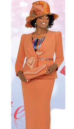 CHAMPAYNE ELITE 2014 | CS4153-CA (Champagne And Elite Champagne Promotional Suits) Church Attire, Church Outfits, Church Clothes, Women Church Suits, Suits For Women, Jackets For Women, Stunning Dresses, Nice Dresses, Formal Wear Women