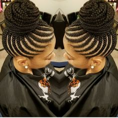 Must-try Braided Hairstyles – Lavish Braids Feed In Braids Ponytail, Feed In Braids Hairstyles, Braided Hairstyles For Black Women Cornrows, African Hairstyles, Girl Hairstyles, Black Girl Braids, Braids For Black Hair, Girls Braids, Natural Hair Braids