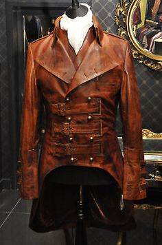Safari Steampunk Anyone? Steampunk is a rapidly growing subculture of science fiction and fashion. Viktorianischer Steampunk, Steampunk Jacket, Steampunk Clothing, Steampunk Fashion, Gothic Fashion, Mens Fashion, Fashion Outfits, Style Fashion, Fashion Clothes