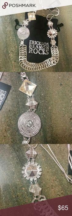 "🆕Erickson Beamon Rocks necklace Erickson Beamon Rocks necklace,length 29"", width 1""- 1.5"". Erickson Beamon Jewelry Necklaces"