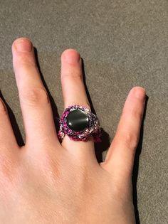 Spiralringe - Ring Spirelli - ein Designerstück von Nadeltasse bei DaWanda Shops, Heart Ring, Gemstone Rings, Gemstones, Etsy, Jewelry, Fashion, Moda, Tents
