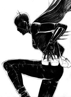 Cassandra Cain by Aaron Naluz Comic Book Artists, Comic Books Art, Comic Art, Manga Comics, Dc Comics, Batgirl Cassandra Cain, Justice League Dark, I Am Batman, Detective Comics