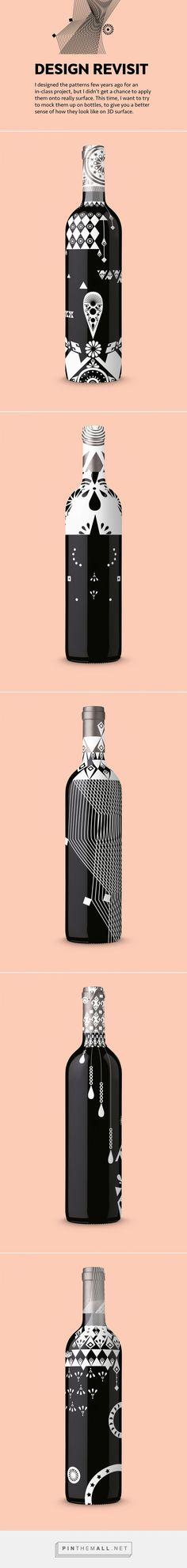 Liquor Bottle Patterns