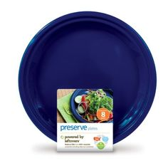 Preserve Plates - Midnight Blue - Made from recycled plastic