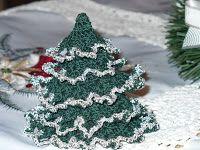 Horgolás tanfolyam: Horgolt fenyőfa