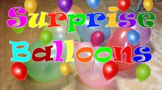 Learn the Colors! Surprise Egg Videos, Colourful Balloons, Business For Kids, Basic Colors, Creativity, Eggs, Learning, Gifts, Presents