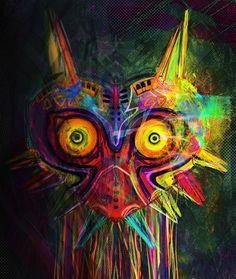 Majora's Mask Art #videogames