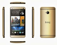 Now the golden HTC One was presented, the new model will be available in stores in early December, there is yet no price for the HTC One Gold known