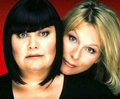 French and Saunders - the funniest British female comedy duo of all time.