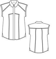 8c0d18d7226 Блуза - выкройка № 141 из журнала 3 2013 Burda – выкройки блузок на