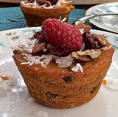 Healthy Morning Carrot Berry Muffins #Simply123AllergyFree