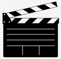 free movie clapper board | Clapper Board Vector for Movie or Film Free Vector