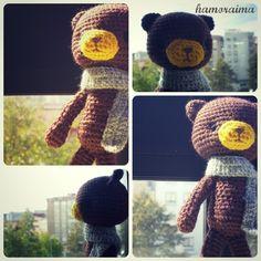 hamoraima: Patrón oso amigurumi