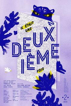 Stephanie Triballier - - Le Jardin Graphique Graphic Design Posters, Graphic Design Typography, Graphic Design Inspiration, Illustration Design Graphique, Graphic Illustration, Graph Design, Print Design, Flat Design, Typographic Poster