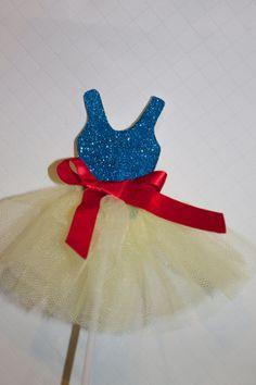 Disney Snow White Inspired cupcake topper princess by PoshMyParty, $25.00