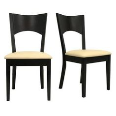Oxford Creek -Merlot Dining Side Chairs (Set of 2)