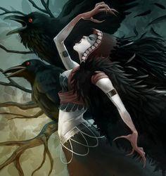 The Morigan by *GaryLaibArt on deviantART