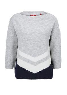 Kuschelpulli mit grafischem Muster von s.Oliver. Entdecken Sie jetzt topaktuelle Mode für Damen, Herren und Kinder online und bestellen Sie versandkostenfrei.