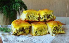 simonacallas : Cherdele dobrogene / Cheese Stuffed Crescent Rolls... Crescent Rolls, Spanakopita, Tart, Sandwiches, Pizza, Cheese, Cookies, Breakfast, Ethnic Recipes