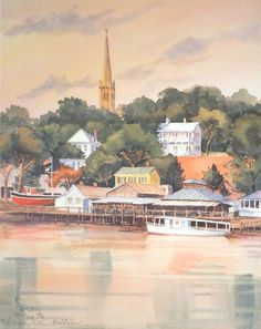 Riverview Limited Edition Print - The Golden Gallery