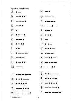 Morse Code Receiving Crib Sheet could be an awesome tattoo idea is part of Dog tattoos Quotes Website - Dog tattoos Quotes Website Small Tattoo Placement, Cool Small Tattoos, Little Tattoos, Mini Tattoos, Tattoos For Women Small, Body Art Tattoos, Tatoos, Small Symbol Tattoos, Dot Tattoos